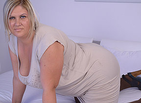 Big breasted mature housewife playing working say no to beaver