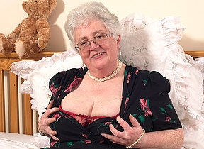 Granny what big tits and a dirty mind you try