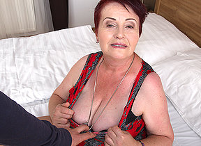 Chubby hairy mature lady getting fucked all round POV style