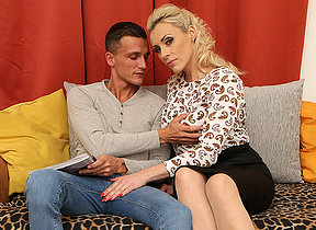 Steamy hot MILF capital punishment her toy boy