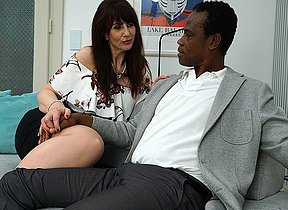 Kinky British lady prosecution her black lover