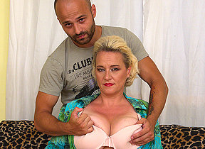 Big breasted housewife getting will not hear of fill