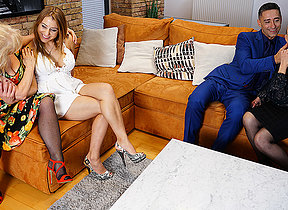 Several older gentry enjoy their stud and each successive during hot groupsex