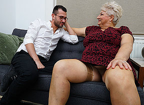 Dirty grandma blows say no to toyboy and gets fucked