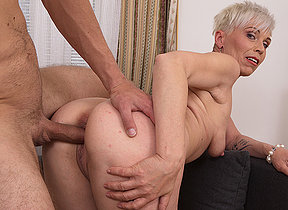 Sexy Milf enjoys her studs big cock